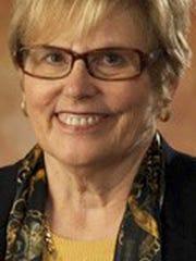 Lois Herr, chairwoman of the Lebanon County Democratic