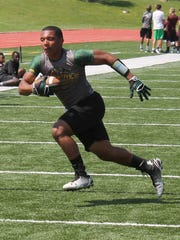 Parkview running back Anthony Riley Jr. rushed 298