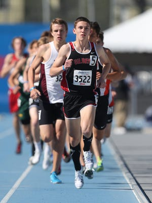 Gilbert senior Thomas Pollard won the boys 3,200-meter run at the Drake Relays. He owns the meet and Iowa record in the event at 8:50.43, which was set in 2014.