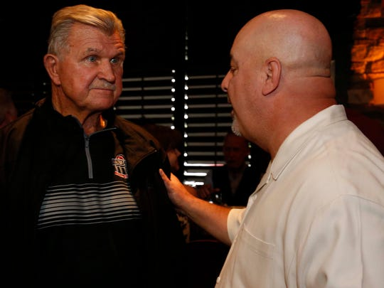 The Legendary Chicago Bears coach Mike Ditka seen here in Springfield for a Missouri State Bears Football fundraiser on May 20, 2018.