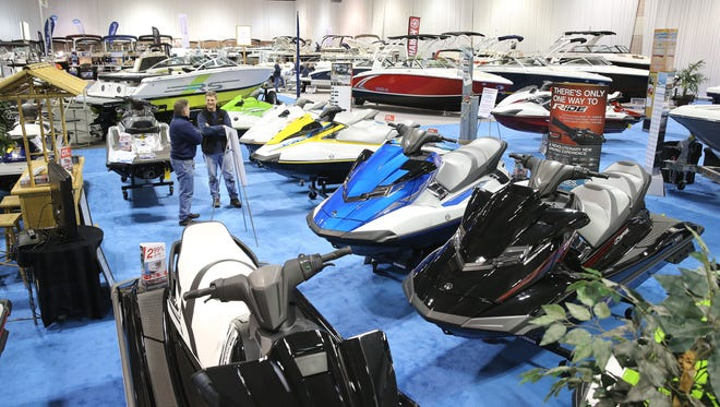 The Greater Rochester Boat Show, which runs Thursday, Jan. 28, through Sunday, Jan. 31, has 11 dealers and 300 watercraft.
