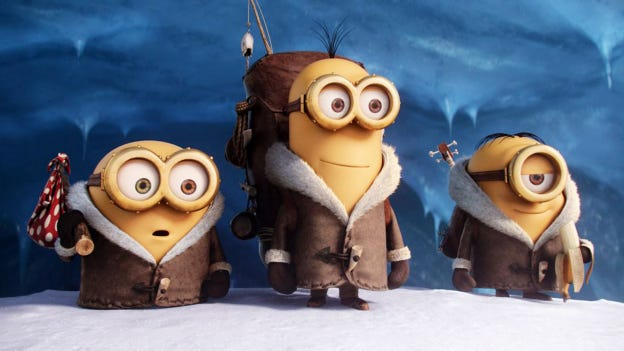 """""""Minions"""" Is the first movie in York City's family-friendly movie series, which begins June 15 at Kiwanis Lake Park."""