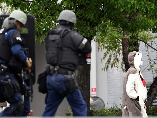 Baltimore TV station bomb threat