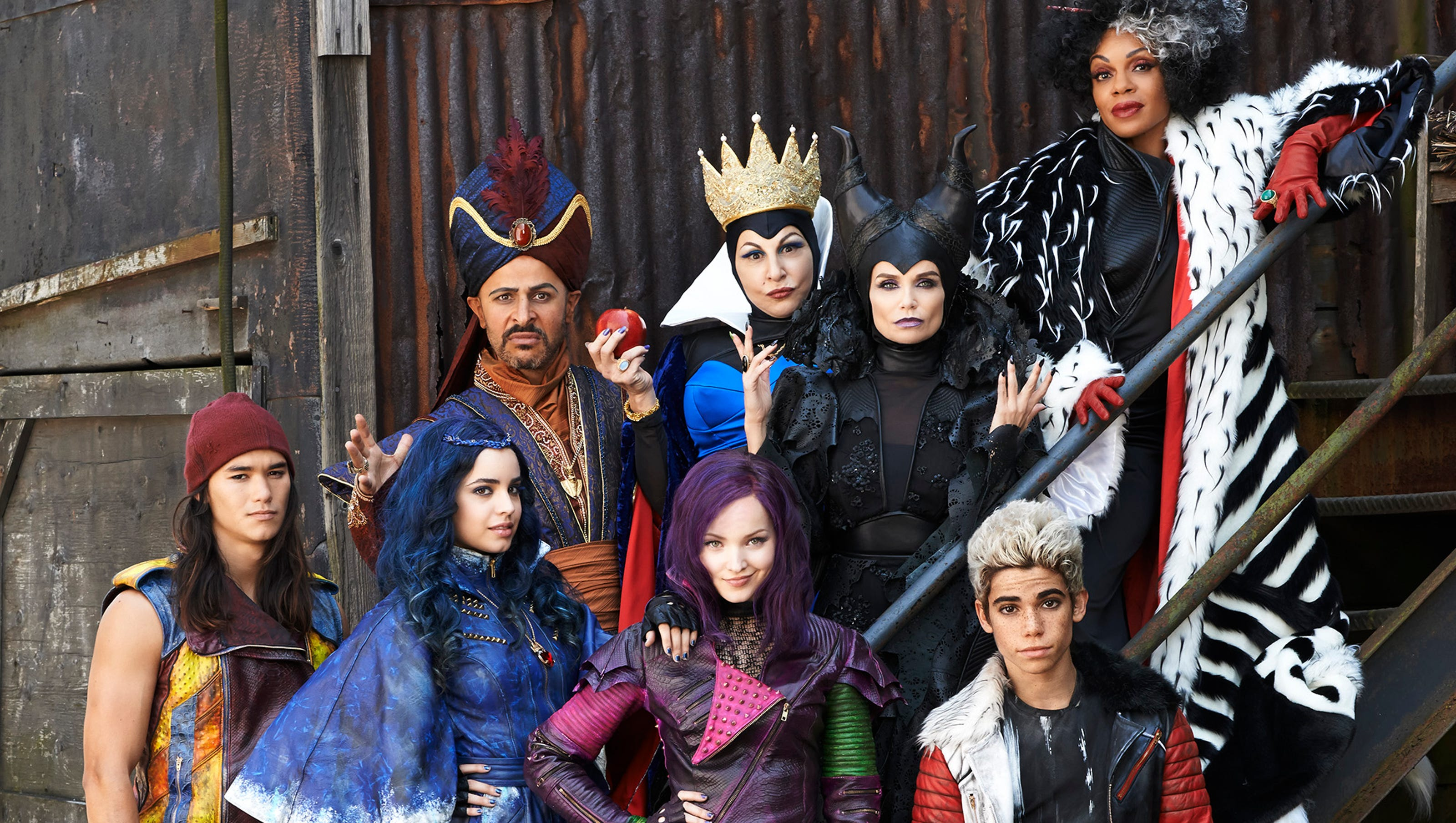 Descendants is a Disney Channel Original Movie and first installment that premiered on July 31 2015 It was released by Walt Disney Pictures and Disney Channel King