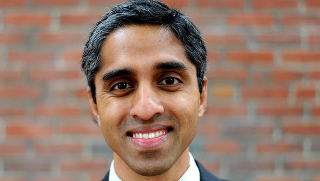 Dr. Vivek Murthy was dismissed April 21 as U.S. surgeon general. Murthy was confirmed in December 2014.