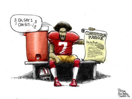 Cartoon for Sept. 7, 2016.