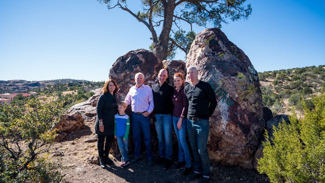 A dedication ceremony was held Friday for the donation of the Tree Rock property to Western New Mexico University.