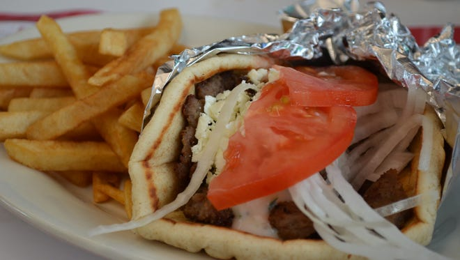 D'Nicio's Parlour features 'the best' gyros in town as voted by the Battle Creek Enquirer during its first run in town.