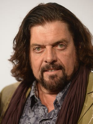 Alan Parsons arrives at the 56th Grammy Awards Producers and Engineers Wing Event Honoring Neil Young at The Village Recording Studios.