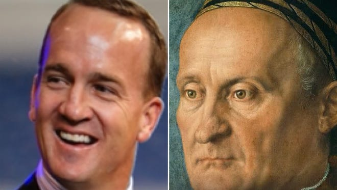We took pictures of Indiana celebrities, including Peyton Manning, and found out who they matched with on the Google Arts & Culture face match.