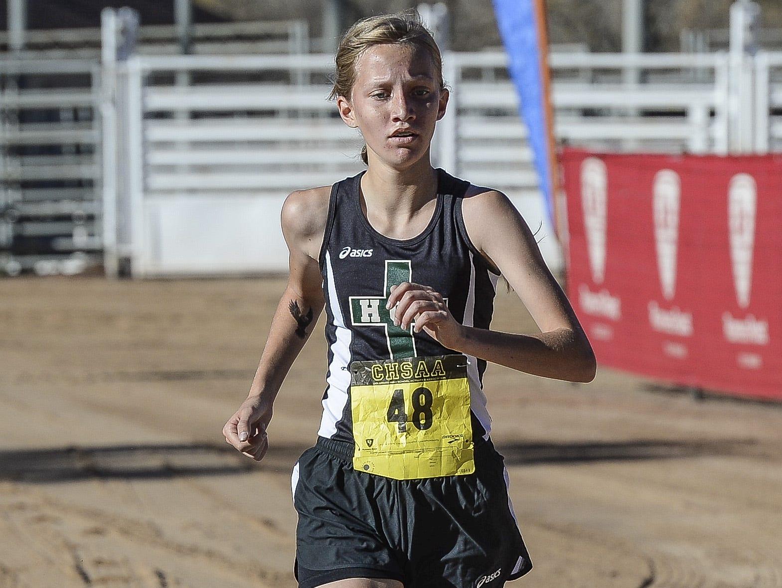 Heritage Christian Academy's Rachel Rairdon has been named the Coloradoan's Female Athlete of the Week.