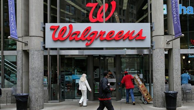 A Walgreens store in Boston.