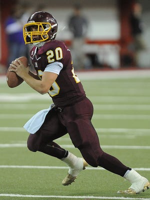 Langford Area QB Chance Olson has 14 touchdown passes this season