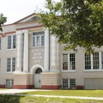"Tim Shortt/FLORIDA TODAY The old Melbourne High School is owned by the Brevard Regional Arts Group, which operates the Henegar Center. Officials say ?Mel-Hi"" is expensive to maintain and insure. The old Melbourne High School is owned by the Brevard Regional Arts Group, which operates the Henegar Center. Officials say it is expensive to maintain and insure.  Tim Shortt, FLORIDA TODAY The old Melbourne high school, built in 1926, next to the Henegar Center for the Arts , on E. New Haven Avenue,in downtown Melbourne. While looking well on the outside, the interior is in need of major renovations."