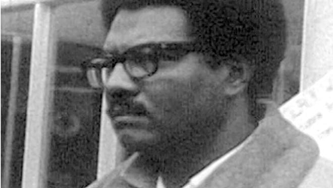 Mike Hamlin, shown here in 1968, was a labor activist who started a publication, Inner City Voice, three months after the 1967 rebellion. Hamlin died in April 2017.