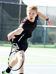 Junior Matthew Schmitz will play at the top of the lineup for Brandon Valley again this season.