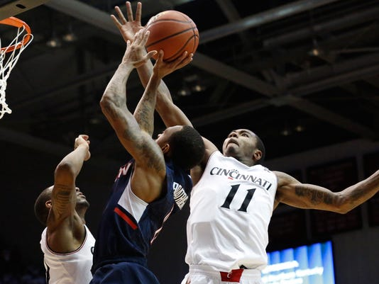 NCAA Basketball: Connecticut at Cincinnati