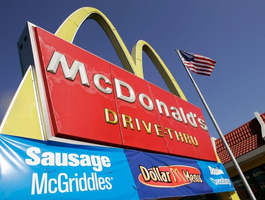 McDonald's goes global on nutritional offerings