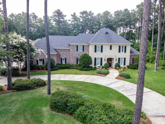 This home has five bedrooms and five bathrooms.