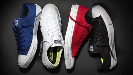 Here they are. The revamped Chuck Taylors, which go on sale Tuesday, July 28, 2015.