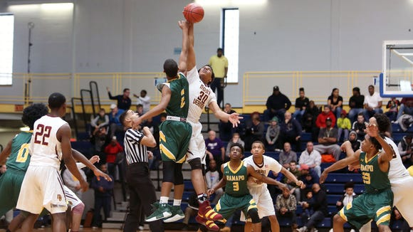 Mount Vernon defeated Ramapo in the boys Section 1 championship game at Pace University in Pleasantville March 3, 2018.