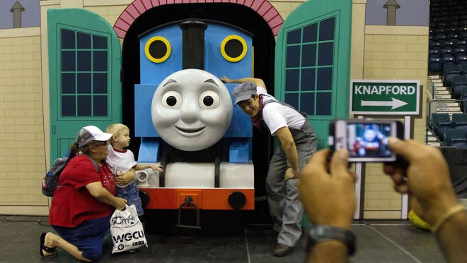 Thomas the Tank Engine returns May 29 at the Family Fun Expo at Germain Arena in Estero.