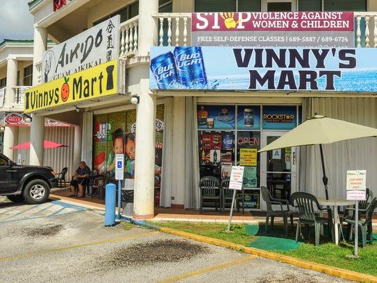 Vinny's Mart in Barrigada.