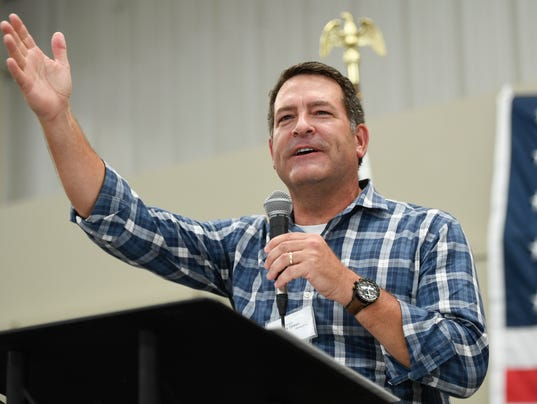 State Sen. Mark Green to run for congressional seat U.S. Rep. Marsha Blackburn is vacating