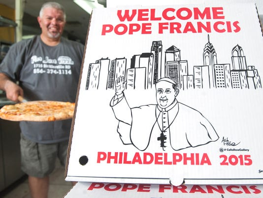 Pope Pizza Boxes