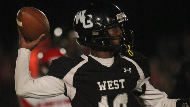 West Gadsden junior quarterback Dentarrius Yon was named Florida Dairy Farmers Class 1A Player of the Year after throwing for 3,075 yards and 38 touchdowns during the Panthers' 10-2 season.