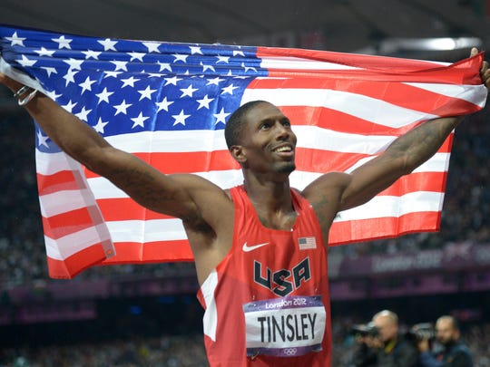 Former Jackson State athlete Michael Tinsley has qualified for two consecutive Olympic games.