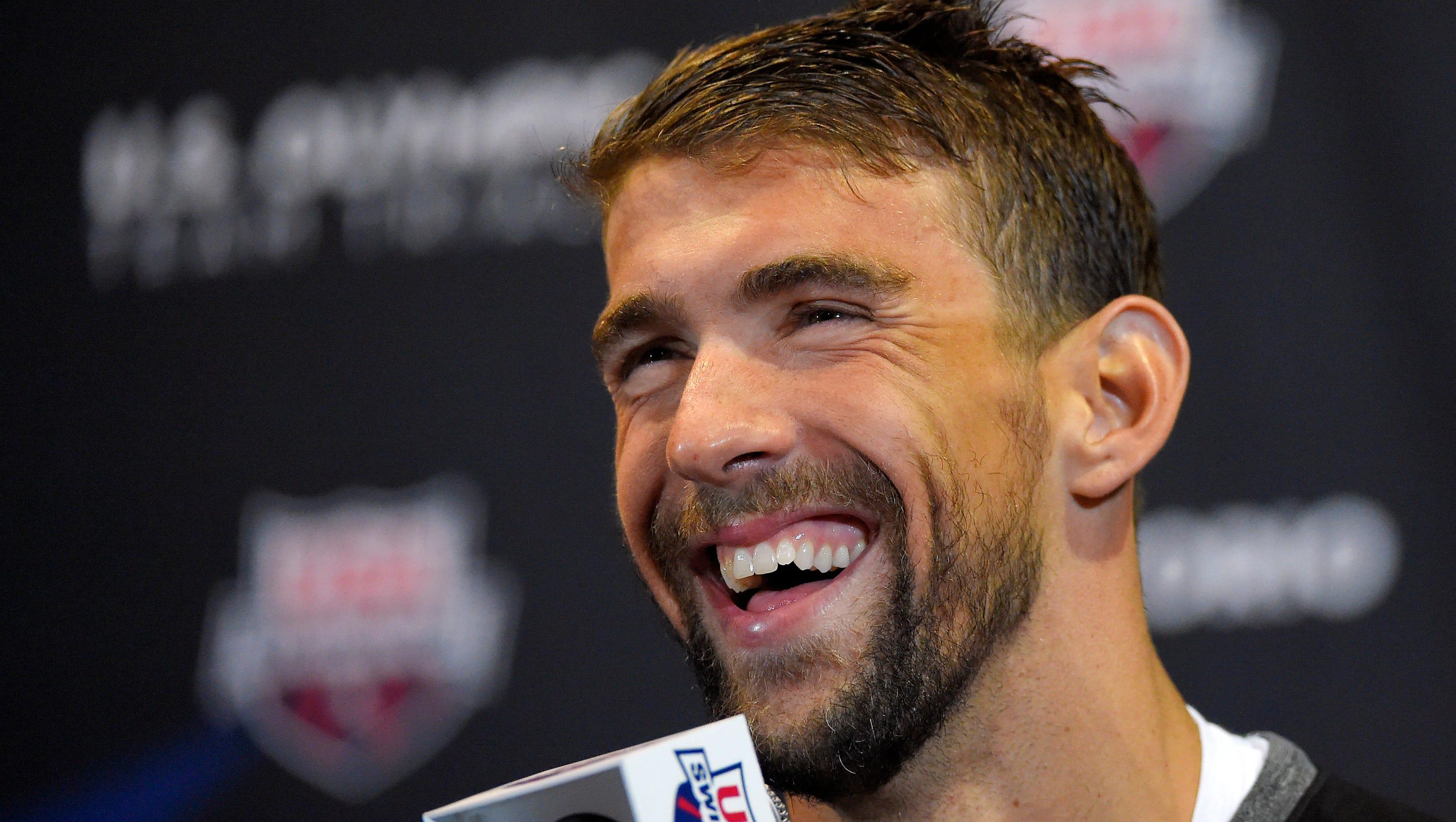 Olympic swimmer Michael Phelps enjoys fatherhood as Rio Summer Games near