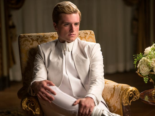 "Josh Hutcherson stars in ""Hunger Games: Mockingjay Part I."""