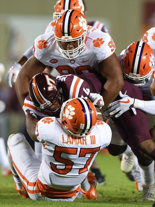 Clemson Virginia Tech Football