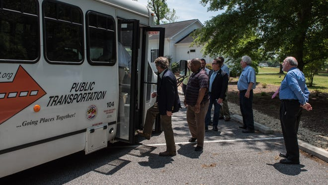 Shuttles will be free to the public during the National Folk Festival in Salisbury from Sept. 7-9.