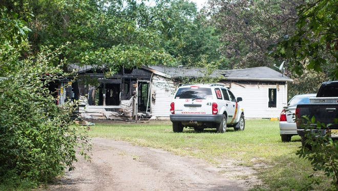 Firefighters responded to a blaze on the 700 block of Cains Mill Road in Buena Vista Township early Wednesday.