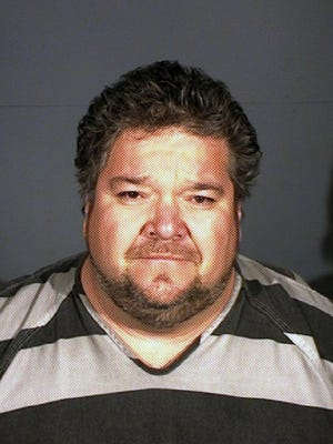 This undated booking photo provided by the Carson City Sheriff shows Nevada Assemblyman Richard Carrillo. Deputies say the Las Vegas lawmaker was found asleep in the driver's seat of his idling car early the morning of Feb. 27 after reportedly leaving a bar near the Capitol.