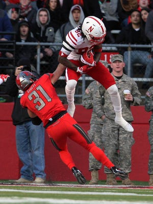The Scarlet Knights of Rutgers take on the Cornhuskers of Nebraska in a Big Ten football game at High Point Solutions Stadium in Piscataway on Saturday November 14,2015.