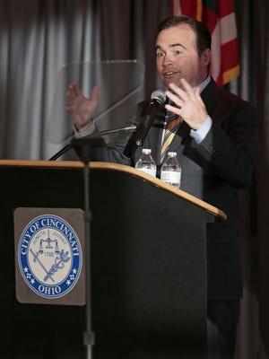 Cincinnati Mayor John Cranley discusses his plan to fight child poverty.