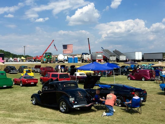 Hundreds attended the 2nd Annual Big Truck & Auto Show
