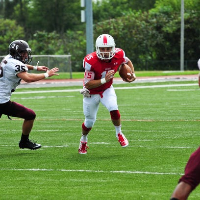 Quarterback Braden Black has guided Olivet College