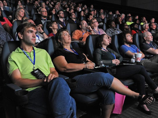 A full house watches the 2014 Louisiana Film Prize