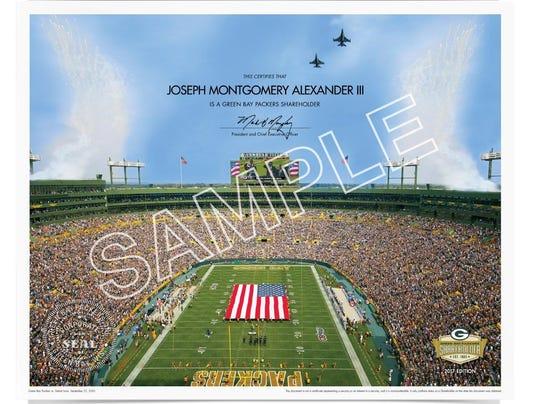 Packers' shareholders document