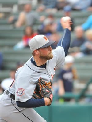 Tigers pitcher Ian Krol added muscle in the offseason and added speed to his fastball.