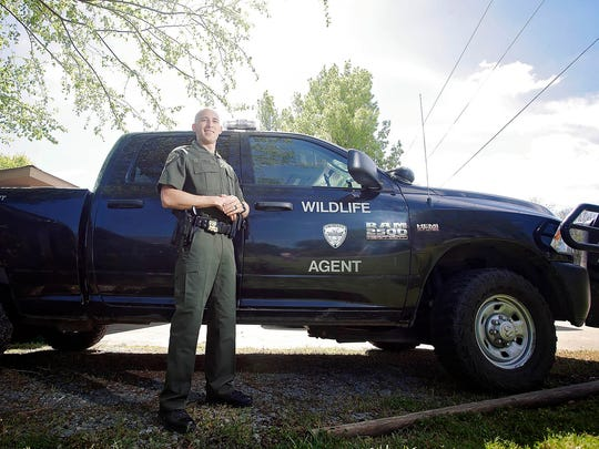"""Seven months after being shot in the head in the line of duty, Tyler Wheeler of Monroe, Lousiana returned to his job as a Wildlife and Fisheries senior agent. Much of his recovery was spent at Jackson's Methodist Rehabilitation Center. Doctors call his recovery """"amazing."""""""