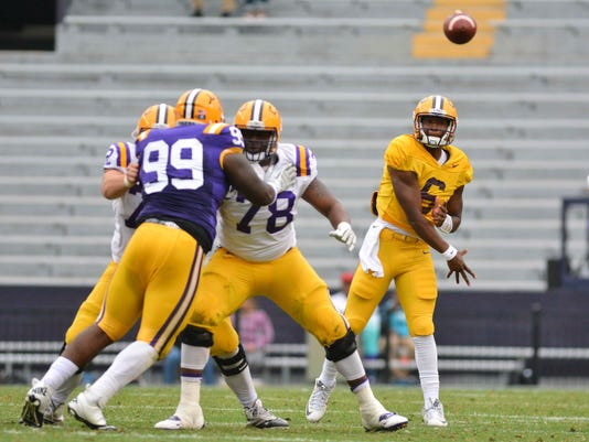 NCAA Football: Louisiana State Spring Game