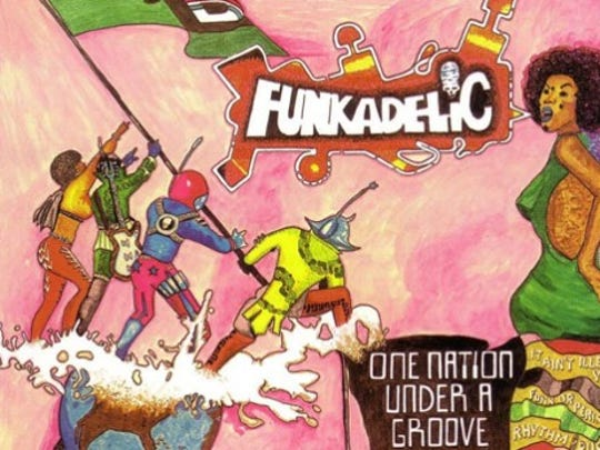 """""""One Nation Under A Groove,"""" Funkadelic"""