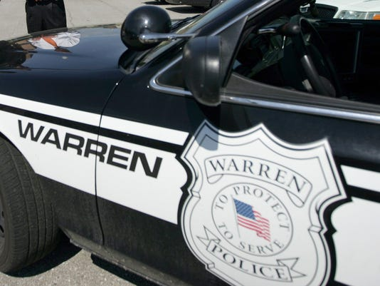 stock-Warren Police car