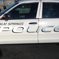 Palm Springs police arrested a suspect during an undercover bicycle theft operation Wednesday.