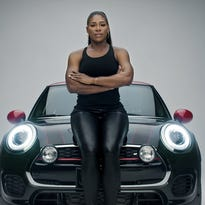 Tennis champ Serena Williams presents a powerful stance in a Mini ad about defying stereotypes